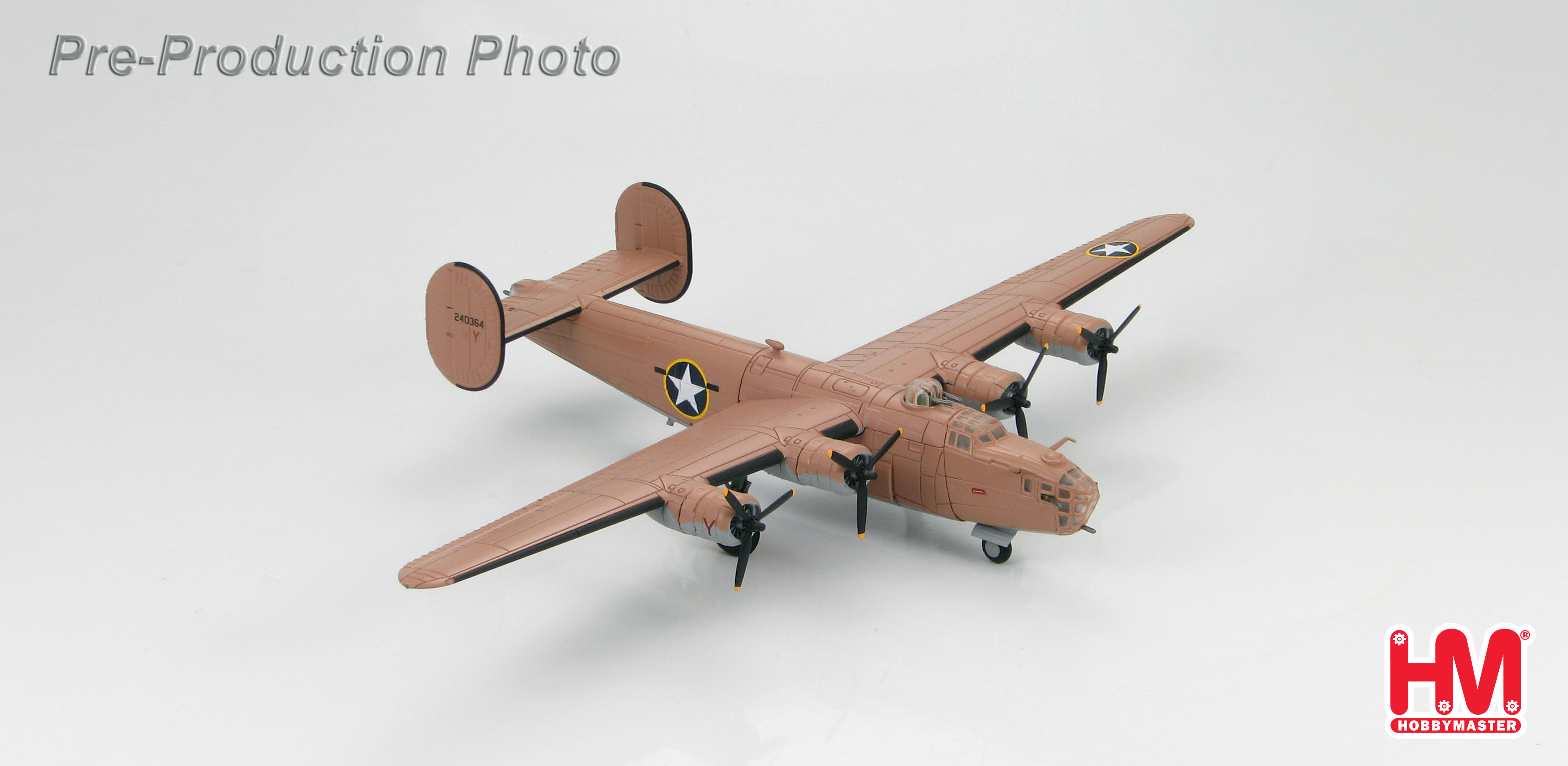 Hobby Master 1 144 Air Power Series HA9100 B 24D Liberator 98th Bomb Group 343rd Sqn Y Snow White And The Seven Dwarfs 1943