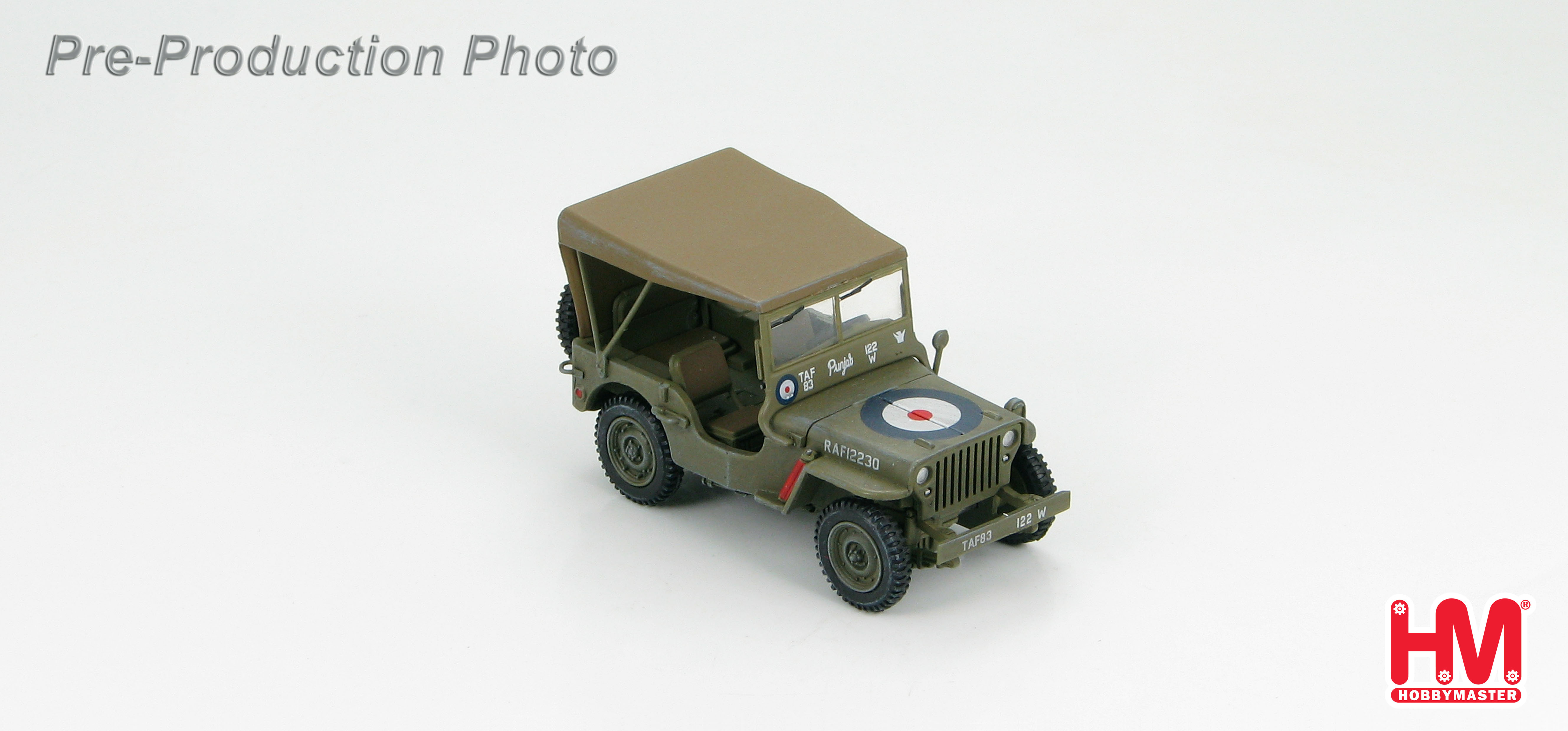 Hobby Master 1 48 Ground Power Series Hg1603 Willys Mb Jeep Raf 97 Hyundai Accent Fuse Box 12230 Wwii